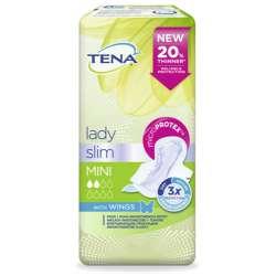 Wkładki urologiczne Tena Lady Slim Mini Wings 18 szt. SCA