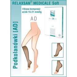 RELAXSAN Linia Medicale Soft Podkolanówki medyczne I klasy ucisku (15-21 mmHg)