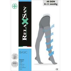 RELAXSAN Rajstopy profilaktyczne 40 Den (8 - 11 mm Hg)
