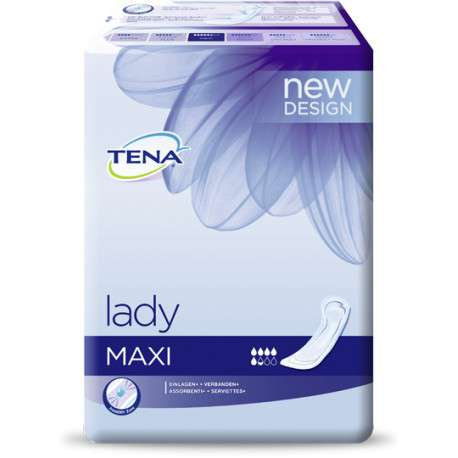 Sklep medyczny - Wkładki urologiczne Tena Lady Maxi 12 szt - wyciek moczu SCA - Refundacja NFZ - niskie ceny!