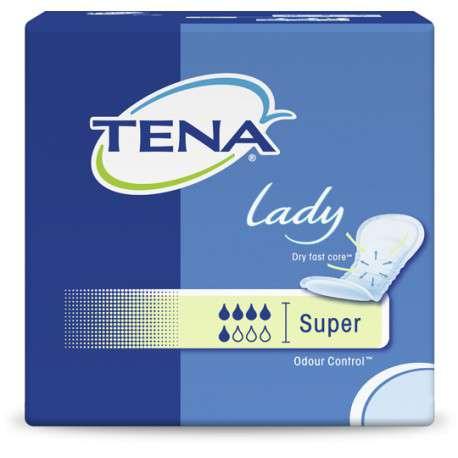 Sklep medyczny - Wkładki urologiczne Tena Lady Super 30 szt - nietrzymanie moczu SCA - Refundacja NFZ! Niskie ceny!