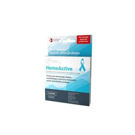 Hemo Active test do wykrywania krwi utajonej w kale DIAGNOSIS
