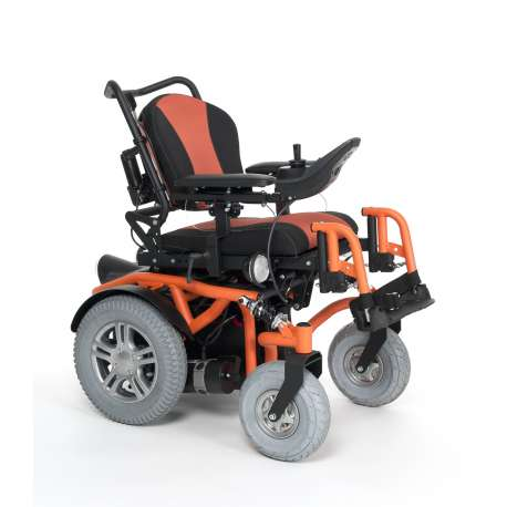 Wózek z napędem elektrycznym pokojowo terenowy SPRINGER 6km/h - VERMEIREN