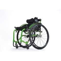 Wózek inwalidzki wykonany ze stopów lekkich aktywny - SAGITTA - VERMEIREN