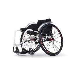 Wózek inwalidzki wykonany ze stopów lekkich aktywny - SAGITTA Si - VERMEIREN