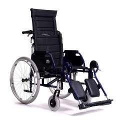 Wózek inwalidzki specjalny z odchylanym oparciem do 90° - Eclips+90 - VERMEIREN