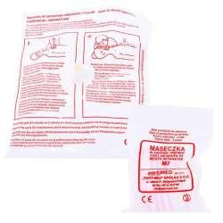 Sklep medyczny - Maseczka do sztucznego oddychania - pomoc - higiena - zdrowie - PART MED - Niska cena!