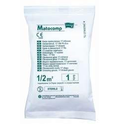 Sklep medyczny - Gaza opartunkowa 17-nitkowa jałowa - higiena - opatrunek - gaza - MATOCAMP - Niska cena!