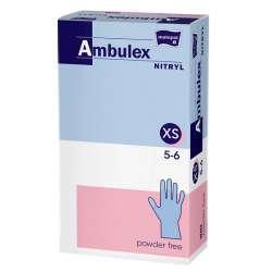 Rękawiczki nitrylowe niepudrowane TZMO