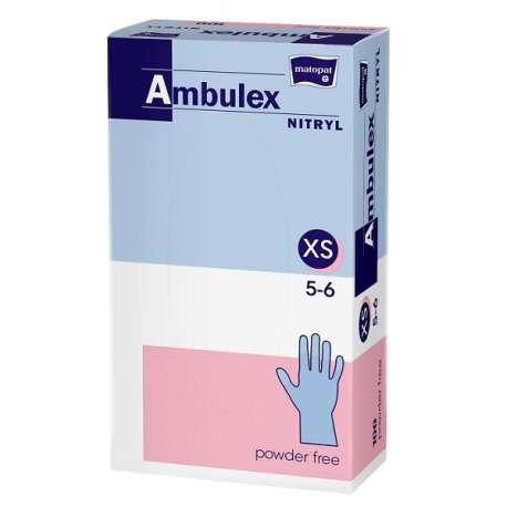 Sklep medyczny - Rękawiczki nitrylowe niepudrowane Ambulex - higiena - sterylność - medycyna - TZMO - Niska cena!