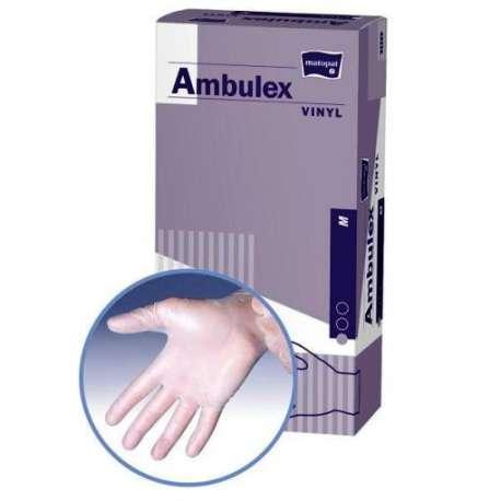 Sklep medyczny - Rękawiczki winylowe pudrowane Ambulex - higiena - sterylność - medycyna - TZMO - Niska cena!