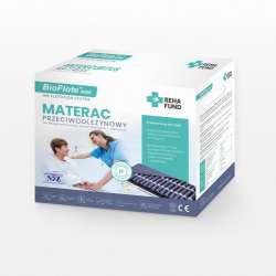 Materac przeciwodleżynowy pneumatyczny komorowy BioFlote™ 4000 RECHA FUND