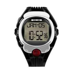 Sklep medyczny - Pulsometr TMP-30 Tech-Med - pomiar pulsu - pulsometr w zegarku - zegarek z pulsometrem. Niska cena!!!