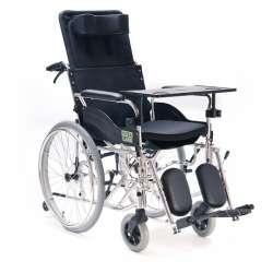 Wózek inwalidzki specjalny aluminiowy RECLINER VCWK703 VITEA CARE