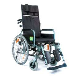 Wózek inwalidzki specjalny aluminiowy RECLINER EXTRA VCWK702 VITEA CARE