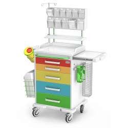 Wózek anestezjologiczny ANS-05/ABS TECH-MED Bydgoszcz