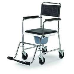 Wózek toaletowy stalowy z wiaderkiem HCDA MEYRA