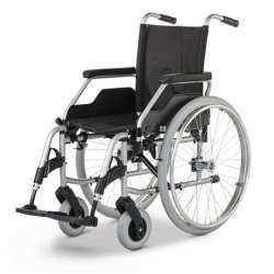 Wózek inwalidzki ręczny stalowy Budget MEYRA