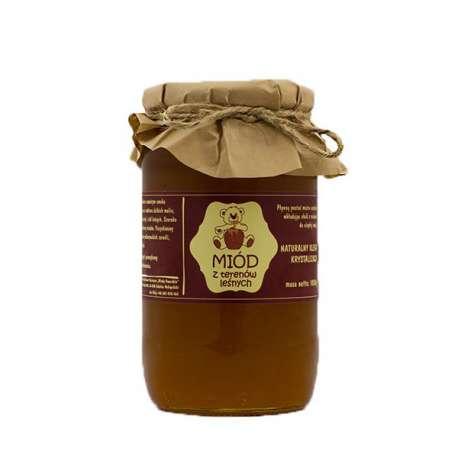 Sklep medyczny - Miód naturalny leśny 1kg Miody Dworskie - Właściwości zdrowotne - na przeziębienia - niska cena!