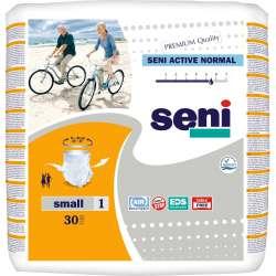 Sklep medyczny - Majtki chłonne Seni Active Normal S 30 szt - pampersy dla dorosłych wyrób medyczny TZMO Refundacja NFZ Tanio!