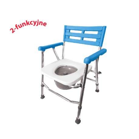 Krzesło toaletowo-prysznicowe aluminiowe – składane AR-104 ARMEDICAL