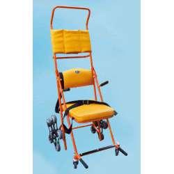 Wózek (dźwig) schodowy ręczny z podgłówkiem INNOW