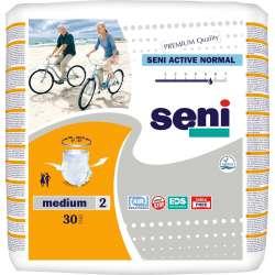 Sklep medyczny - Majtki chłonne Seni Active Normal M 30 szt - pampersy dla dorosłych wyrób medyczny TZMO - Refundacja NFZ Tanio