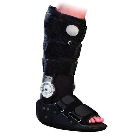 Orteza sztywna z tworzywa sztucznego na goleń i stopę (długa) ANTAR AT53003