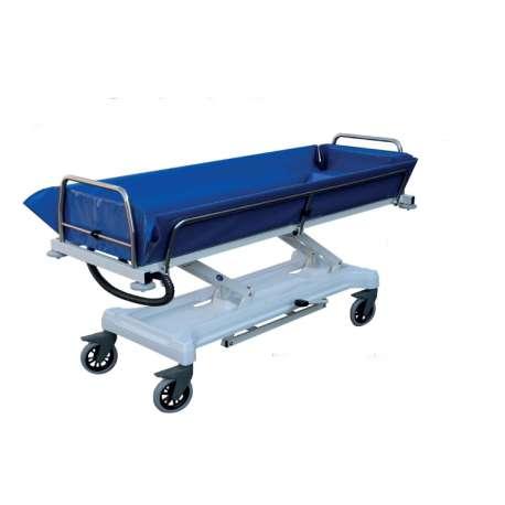 Wózek transportowo-kąpielowy w pozycji leżącej z regulacją hydrauliczną wysokości C 213 EVO INNOW