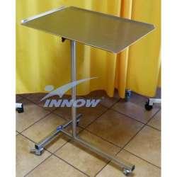 Stolik pod narzędzia chirurgiczne ze stali nierdzewnej INOX - SCH100-S