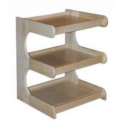 Regał drewniany 3-półkowy RO-3 KINESIS