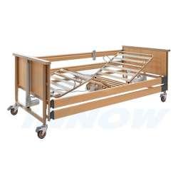 LT4Eco – Łóżko rehabilitacyjne elektryczne w obudowie drewnianej INNOW