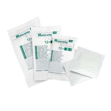 Sklep medyczny - Kompres gazowy jałowy 7x7 17n8w a'3 flow pack - materiały opatrunkowe gazy waty kompresy - TZMO - Niska cena!