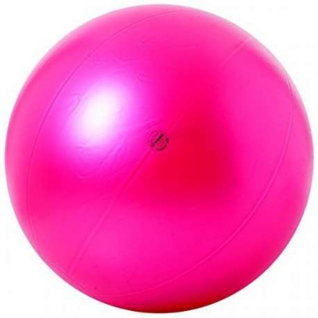Piłka Pushball ABS o śr. 95 cm rubinowa KINESIS