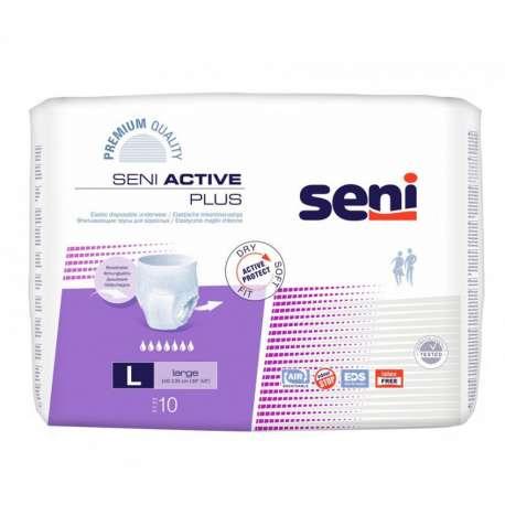 Majtki chłonne Seni Active Plus L 10 szt. TZMO