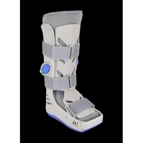 """Pneumatyczny aparat sztywny na goleń i stopę typu """"but"""" długi Airstep Walker ASW KARE"""