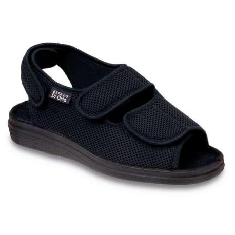 Sklep medyczny- Buty ortopedyczne damskie dr Orto 733 M Czarny-DR ORTO-obuwie lecznicze damskie-obuwie na stopy wrażliwe-Tanio!