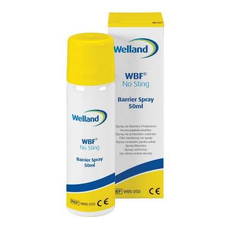 Spray z płynem ochronnym do pielęgnacji stomii Welland Barrier Film bezalkoholowe WBS050 WELLAND MEDICAL