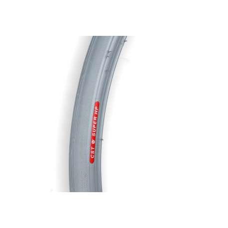 Opona do wózków inwalzkich szara 20x1, ETRO 25-451 bezprofilowa RECOMEDIC