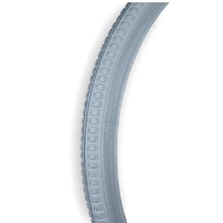 Opona szara, 22x1.3/8, ETRTO-Nr 37-489, profil lekka kostka RECOMEDIC