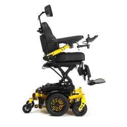 Wózek inwalidzki specjalny z napędem elektrycznym na centralne koło SIGMA 6 km/h VERMEIREN