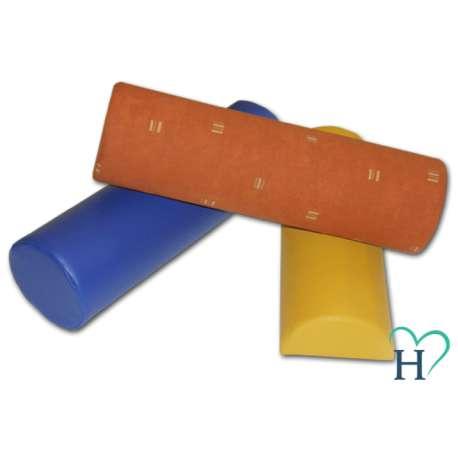 Wałek rehabilitacyjny 10x30 cm nieprzemakalny/bawełniany HALCAMP