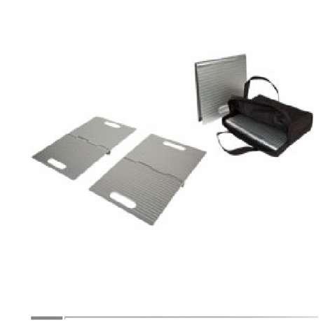 Rampy progowe aluminiowe typu DOORSTEP DS4025 MOBILEX