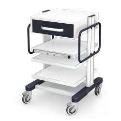 Wózek pod aparaturę medyczną AR80-3N z wyposażeniem TECH-MED Bydgoszcz