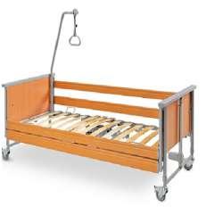 Łóżko rehabilitacyjne Domiflex sterowane elektrycznie TIMAGO