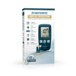 Diagnostic Gold System Zestaw do pomiaru poziomu glukozy we krwi DIAGNOSIS