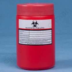 Pojemnik na odpady medyczne 1 L MAR-PLAST