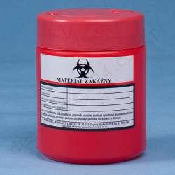 Pojemnik na odpady medyczne 0,7 L MAR-PLAST