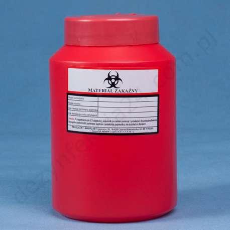 Pojemnik na odpady medyczne 2 L MAR-PLAST