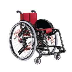 Wózek inwalidzki ze stopów lekkich X2 JUNIOR MEYRA